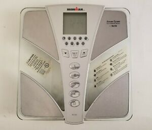 Tanita Ironman InnerScan Scale Body Composition Monitor Elite Series BC-554 read
