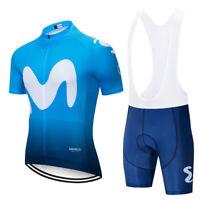 Movistar bicicleta maillot de ciclismo Bib pantalones cortos Juego 2018 último