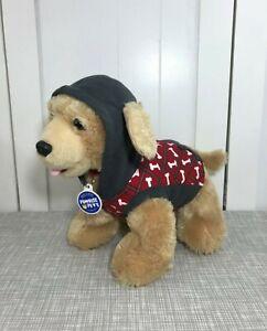 💜 Build A Bear Promise Pets Golden Retriever Dog Puppy Plush w/ Bones Hoodie