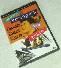 Strangers on a Train Dvd 2-Disc Set Rare oop