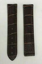 GENUINE OMEGA BROWN REPLACEMENT LEATHER BAND 18MM