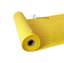 Yellow 100FT Plastic Buffet Banquet Roll Wedding Party Table Cover