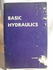 Rare Basic Hydraulics NAVPERS 16193 Navy Training Course 1951 Book 314 Pages [Mi