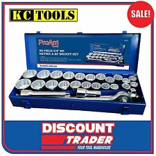 "ProAm by KC Tools 26 Piece 3/4"" Drive Metric & Imperial Socket Set - 19344"
