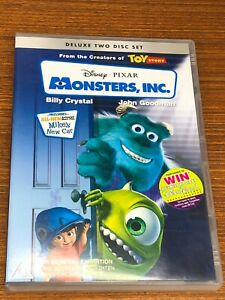 Monsters, Inc. DVD 2 Discs Very Good Condition Region 4
