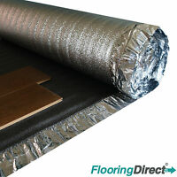 60m² Roll - Sonic Silver HD 5mm - Acoustic Underlay For Wood & Laminate Flooring