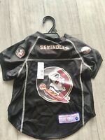 NEW FLORIDA STATE UNIVERSITY SEMINOLES PET DOG MESH JERSEY Large SIZE LICENSED
