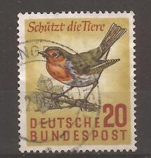 1957 Nature Protection 20 Pf very fine used, Michel 275.