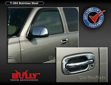 SS 4 Door Handle Cover GMC Yukon 04 05 06 No Pass Key