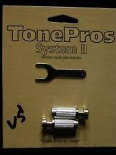TonePros Locking Steel Studs Chrome tone pros vcs1-c