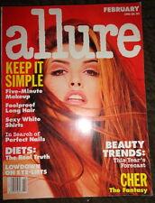 Allure 1992 Shana Zadrick Christy Turlington Karen Mulder Cher Joely Richardson