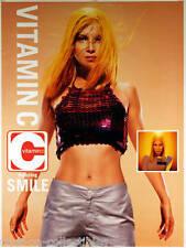 Vitamin C 1999 Self-Titled Ft. Smile Original Promo Poster