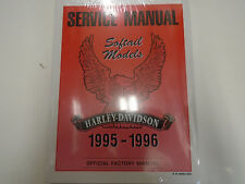 1995 1996 HARLEY DAVIDSON SOFTAIL MODELS Service Shop Repair Manual OEM NEW