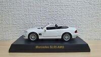 1/64 Kyosho MERCEDES BENZ SL55 AMG WHITE diecast car model