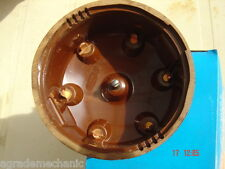 GB539+GB502 GERMAN brass DISTRIBUTOR CAP & ROTOR aka BH82+BH79 BROWN BAKELITE