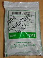 (1000) WHEAT PENNIES OLD COIN LOT SEALED BANK BAG LINCOLN CENTS 1909-1958PDS B9
