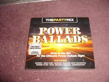 The Party Mix Power Ballads 3 CD Digipak SEALED 2014