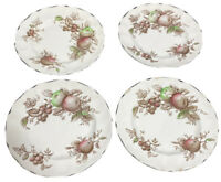 Johnson Brothers Harvest Time bread plates - set of four.