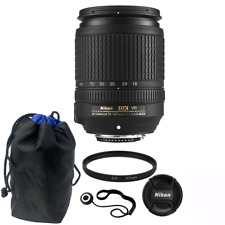 Nikon 18-140mm f/3.5-5.6G ED VR AF-S DX NIKKOR Zoom Lens + UV Filter + More