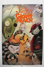 JAMES and the GIANT PEACH - Disney - Original Movie Poster - 1996 Rolled DS C9