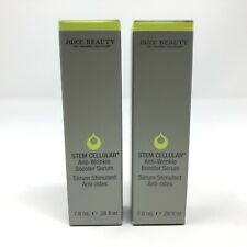 2x Juice Beauty Stem Cellular Anti-Wrinkle Booster Serum .26oz ea Travel New