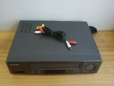 Sharp VC-A574 4 Head VCR tested