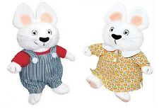 Max and Ruby 9.5 inch BOTH Dolls, New and Mint by MerryMakers!
