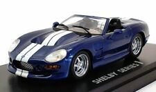 Kyosho 1/43 Scale Model Car 03131BW - Shelby Series 1 - Blue/White