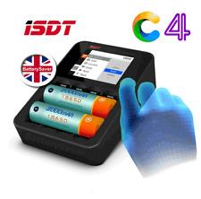 ISDT C4 Intelligent AA/AAA/18650 Intelligent Chargeur de batterie-UK VERSION