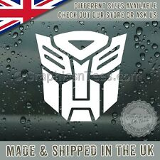 Car Bumper Autobot Window Sticker Vinyl Graphic Decal - 16 Colour Choices