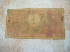 REPUBLIQUE CENTRAFRIQUE BILLET DE 500 FRANCS  (C253)