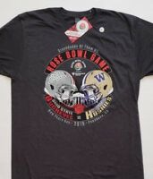2019 Rose Bowl Washington Huskies vs Ohio State Dueling Gray (SMALL) T-Shirt