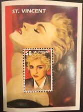 Saint Vincent & The Grenadines- 1991 Madonna Stamp- Souvenir Sheet scott #1504