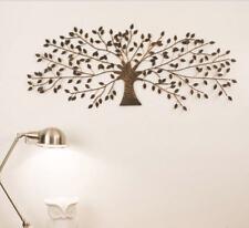 Black Bronze Tree Of Life Metal Hanging Wall Art Sculpture Home Garden BIG 110CM
