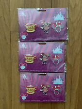 Disney Minnie Mouse Main Attraction Pin Set - Mad Tea Party (Limited Ed)