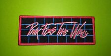 M495 PATCH ECUSSON PINK FLOYD THE WALL 12*4,5 CM