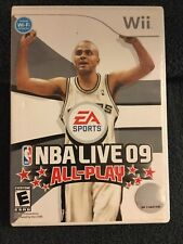 Nintendo Wii NBA Live 09 All-Play Video Game