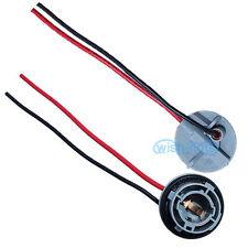 2Pcs 1156 7506  5008 LED Connectors Wire Turn Signal Brake Tail Bulb Lamp Plug