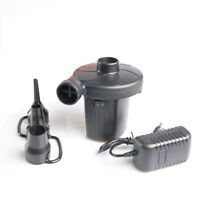 Electric Quick Air Pump with Inflator Noozle for Air Mattress Pool Boat Raft Toy