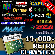 128 GB Retropie SD Card - Ultimate Collection With Video Previews & 3D Boxart!