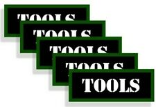 Ammo Can Labels TOOLS Ammo Can Decals Ammunition Ammo Stickers  5-pack