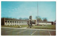 500 MILE MUSEUM Race Cars Indianapolis Motor Speedway Enter INDIANA IN Postcard