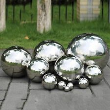 Garden Hollow Ball Decoration Stainless Steel Seamless Sphere Home Supplies Park