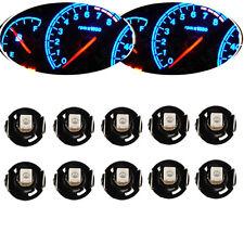LOT10 ICE Blue T4 T4.2 BLUE NEO WEDGE GLOBES SMD LED DASH CLUSTER Car AU Seller