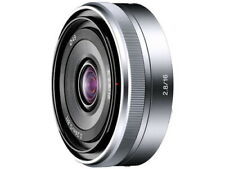 SONY E16mm F2.8 Lens SEL16F28 Japan Ver. New / FREE-SHIPPING