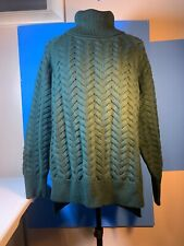 Wilfred Free Women's Pullover Sweater Model # 60062 Color Green Size Large