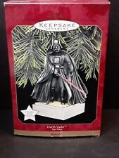 1997 Star Wars Darth Vader Hallmark Keepsake Ornament Magic Lights and Sound