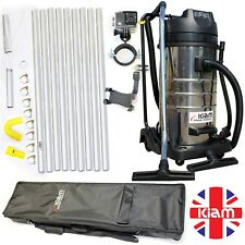 ALL IN ONE GUTTER CLEANING BUSINESS PACKAGE Vac, poles, nozzles, camera, holdall