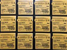 12 Rolls KODAK Double-X 7222 16mm 100FT B&W Negative Film-Purchased In 2016
