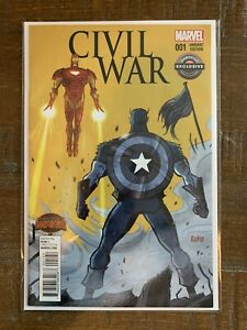 Marvel Comics Civil War Variant Edition Game Stop Exclusive ( Secret Wars )